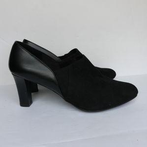 Dexflex Comfort Women's Black Ankle Booties Heels